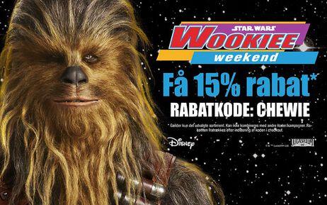 Vi fejrer Wookiee Weekend!