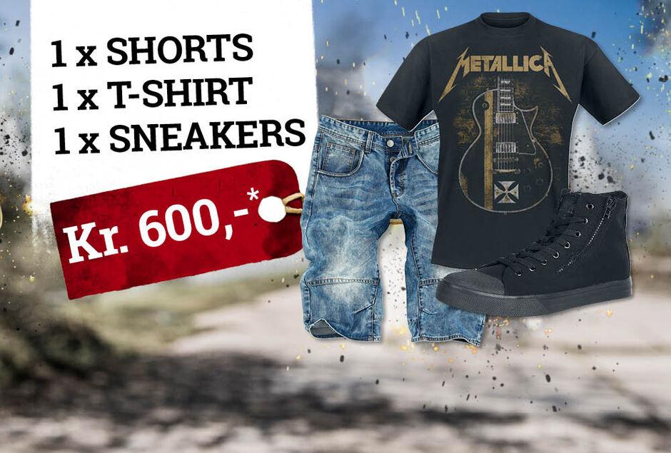Et helt outfit for kr. 600,-