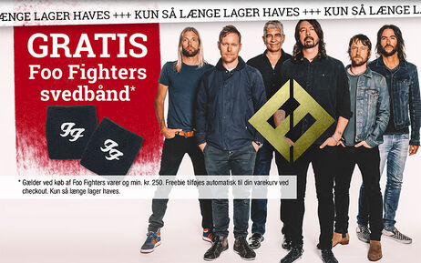 GRATIS Foo Fighters svedbånd