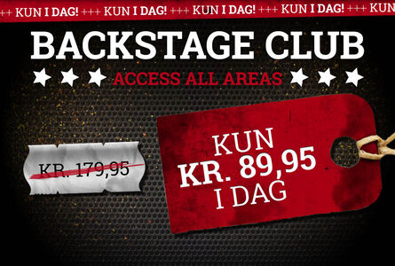Lær Backstage Club at kende!