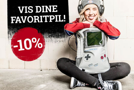 10% rabat på gaming merch