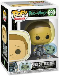 Season 4 - Space Suit Morty With Snake Vinyl Figure 690