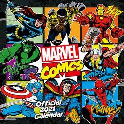 2021 Vægkalender - Comics Classic