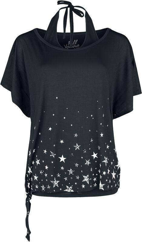 T-shirt + halterneck