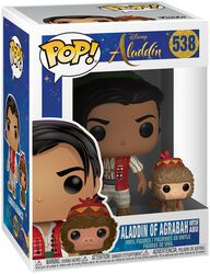 Aladdin of Agrabah with Abu Vinyl Figure 538