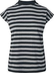 Ladies Y/D Stripe Tee