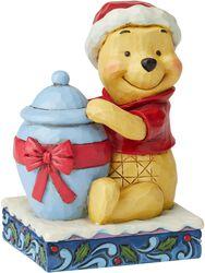 Holiday Hunny Winnie The Pooh Christmas Figurine