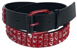 Red Stud Belt