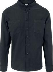 Low Collar Flanell Shirt