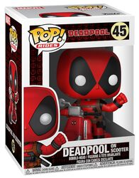 Deadpool on Scooter Vinyl Figure 45