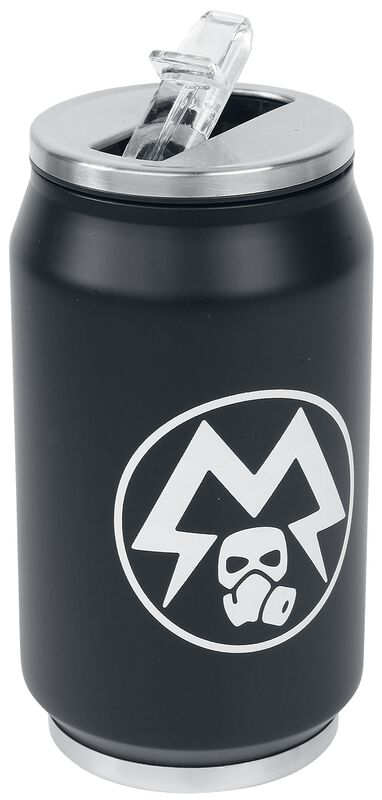 Glow in the Dark Metro Exodus - Spartan Logo Can-Shaped Drinks Bottle