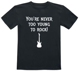 You're Never Too Young To Rock!