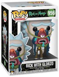 Rick With Glorzo Vinyl Figur 956