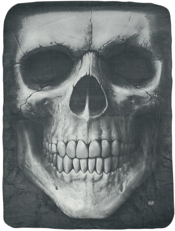 Solemn Skull fleecetæppe