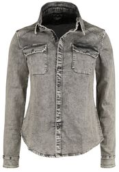 Jog Denim Shirt