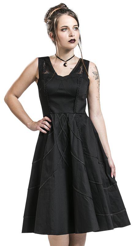 Braided Raven Dress