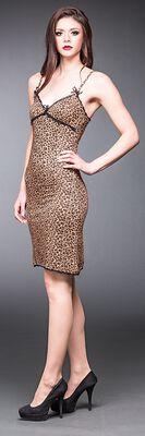 Leopard med blonder