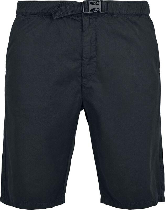 Straight Leg Chino Shorts med bælte
