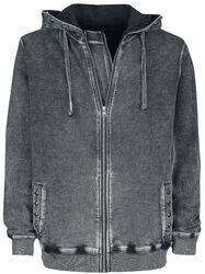 Grey Hooded Wash
