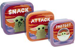 The Mandalorian - Grogu - Snack, Attack, Protect