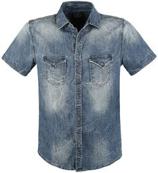 Riley Short Sleeve Denim Shirt