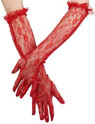 Lange brocade-handsker