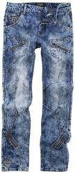 Jared - blå jeans med heavy wash