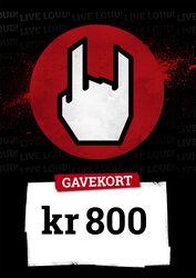 Gavekort 800,00 DKK