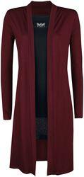Black Premium cardigan med top