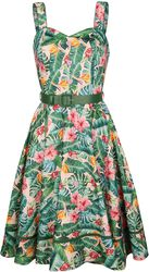 Jinkx Tropical Print Dress - Unreal Red Heads Collaboration