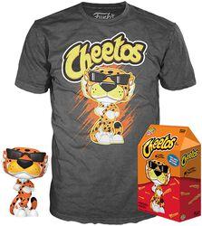 POP Ad Icons: Cheetos - Chester Cheetah - T-Shirt plus Funko- POP! & Tee