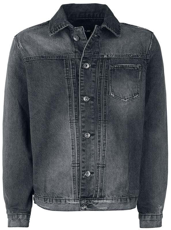 Washed Denim-jakke