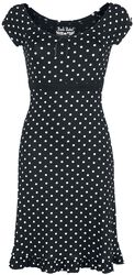 Rock Rebel Rockabilly Spots Dress