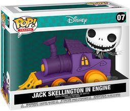 Jack Skellington in Engine (Pop! Train) Vinyl Figure 07