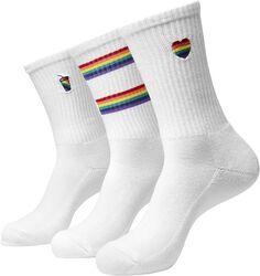 Pride Icons Socks 3-Pak