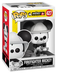 Mickey's 90th Anniversary - Firefighter Mickey Vinyl Figure 427