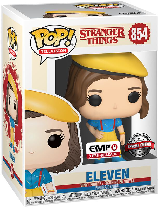 Eleven Vinyl Figure 854