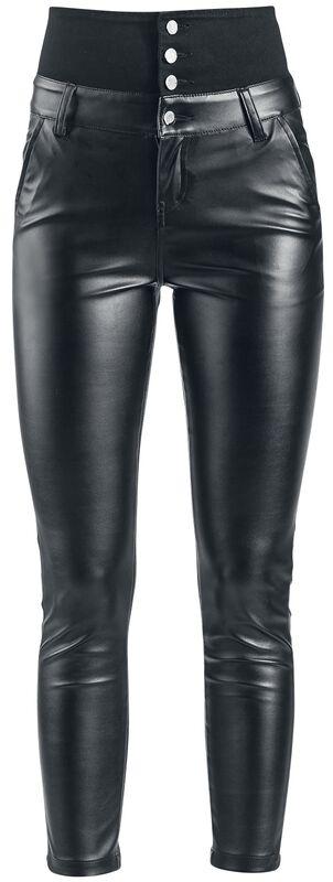 High Waist Imitation Leather