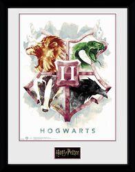 Hogwarts Water Colour