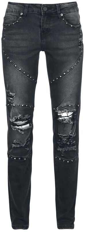 Black Jeans with Studs