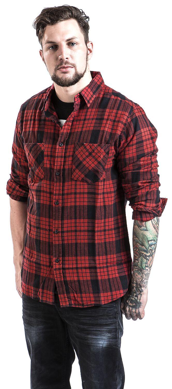 19157ce8 Checked Flannel Shirt 2 | Urban Classics Flannelskjorte | EMP