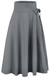Elizabeth Curved Waist Bow Skirt