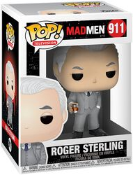 Mad Men Roger Sterling Vinyl Figure 911