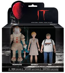 Sæt 2 - Pennywise, Ben and Beverly