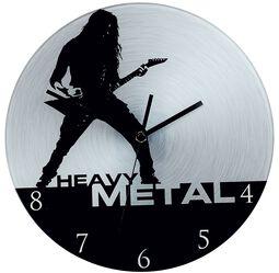 Vægur af glas Heavy Metal