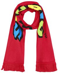 Super Mario Knitted Scarf
