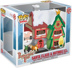 Holiday - Santas House with Nutmeg with House (Pop! Town) Vinyl Figure 01