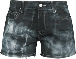 Destroyed Vintage Five Pocket Denim Hot Pant