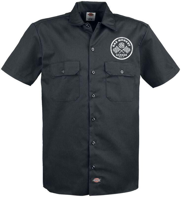 Custom Motors Dickies Worker Shirt