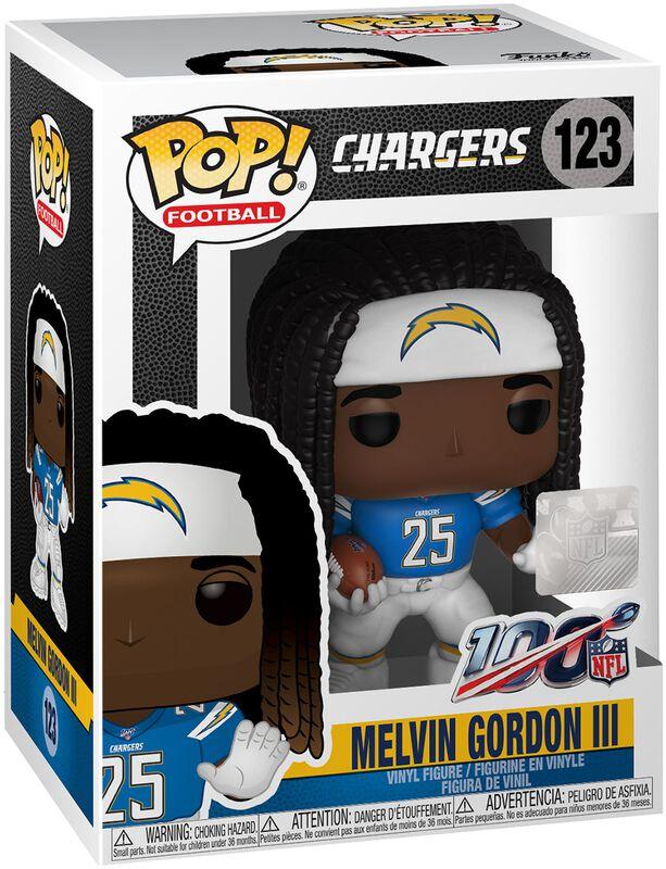 Los Angeles Chargers - Melvin Gordon III Vinyl Figure 123